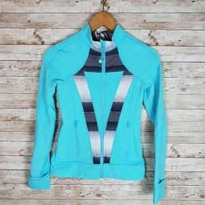 Ivivva Perfect Your Practice Jacket Skye Blue